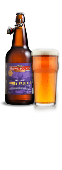 Howe Sound Garibaldi Honey Pale Ale